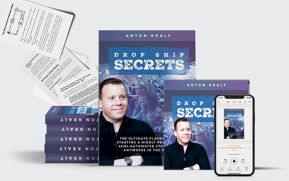 Drop Ship Secrets - Get Your Book Today